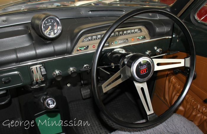Volvo 123GT Steering Wheel